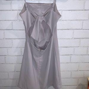 Toast to life Grey Lulu Mini dress